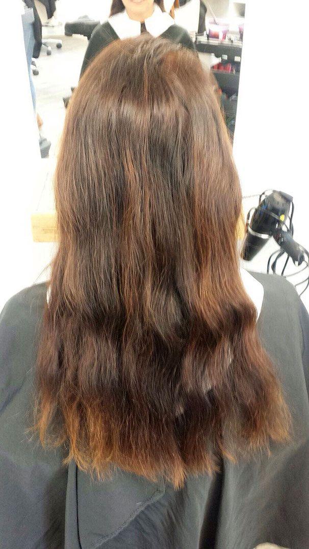 Haare mit olaplex reparieren