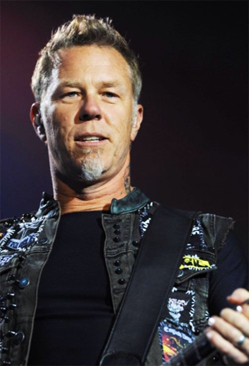 How did I, in my metal, long-haired bad-ass loving youth, not notice that James Hetfield was hot? Or is this new?   When did James Hetfield get hot?