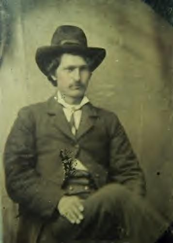 Frank James | Frank James during his robbery and murdering days