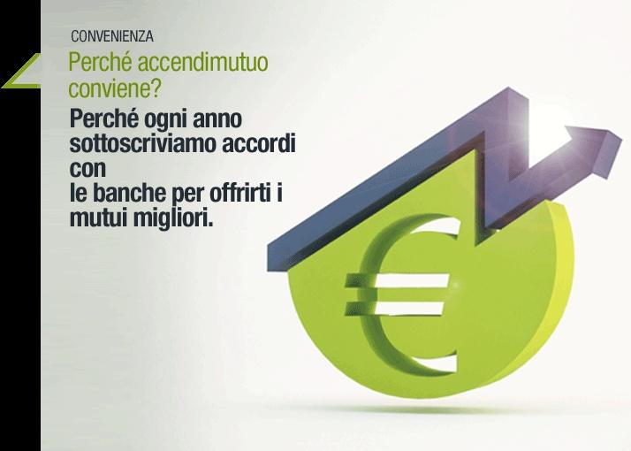 Accendimutuo convenienza tramite accordi con le maggiori banche