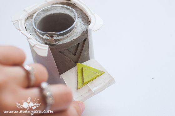 easy costume molds for concrete candleholders \\ evenyaru.com