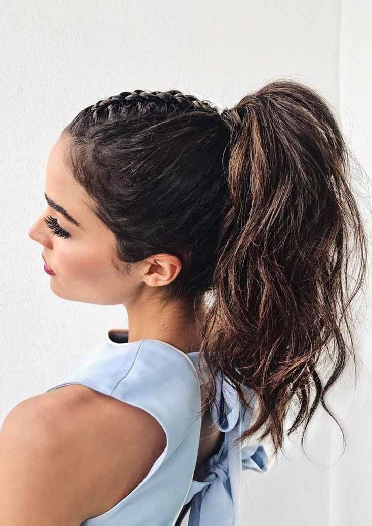 5 Best Braided Ponytail Hairstyles And Haircuts Ideas 2019 : Get The Latest Hairstyle Fast