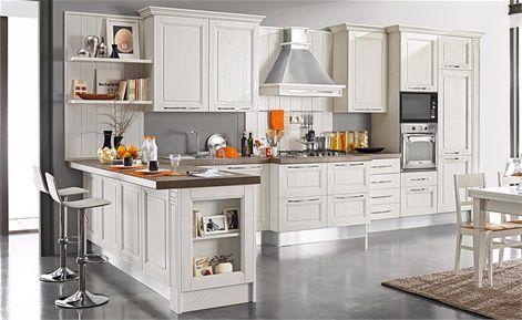 Cucina Sofia - Mondo Convenienza | Cucine, Isola cucina ...