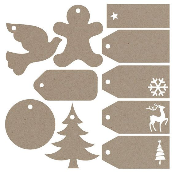 Gift Tags Svg-Datei