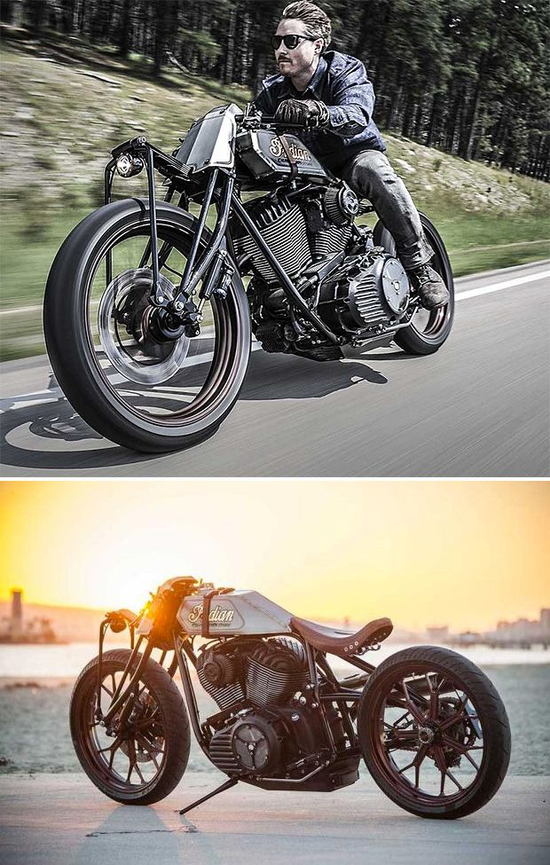 Roland Sands Custom Indian Track Chief