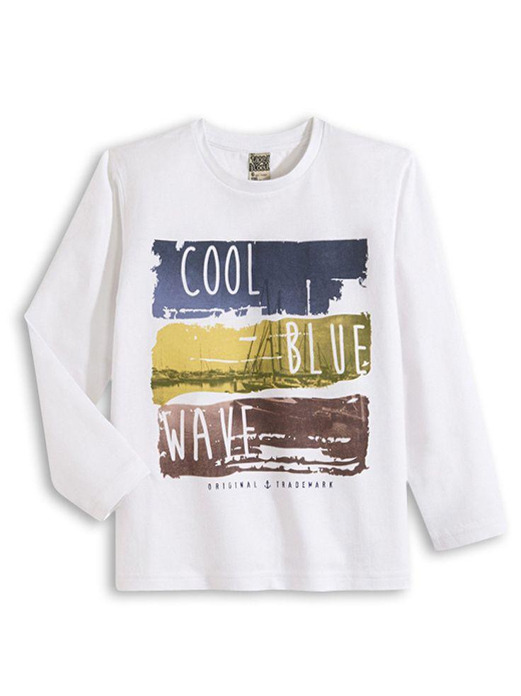 LE TEE-SHIRT ACHIPMUNK OPTICAL WHITE, Tee Shirt, mode enfant | Tape à l'œil