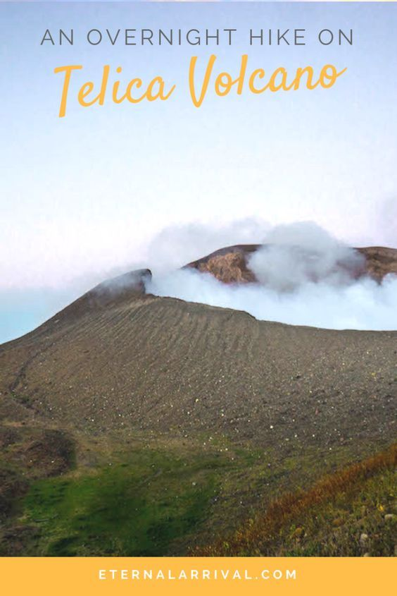 Of all the things to do in Leon, Nicaragua, make sure you do some volcano hiking. Telica is one of the best!