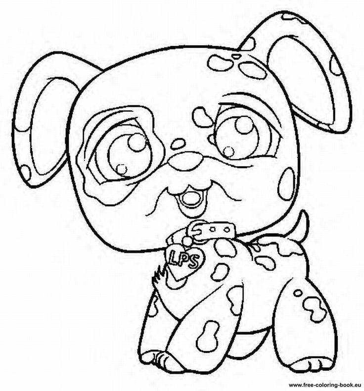 Pet Shop Coloring Pages For Children