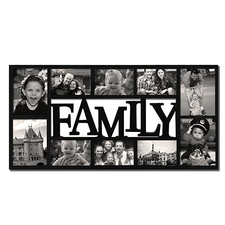 Six Opening 4x6 Picture Frame