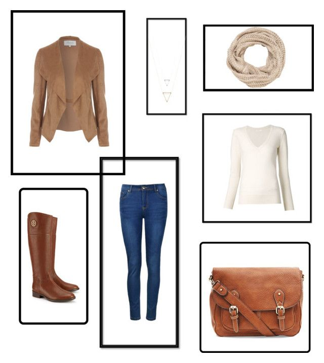 Jesień by magdalena-fajfer on Polyvore featuring moda, Chloé, Ally Fashion, Tory Burch and maurices