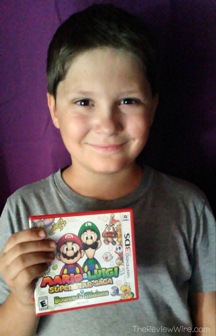 Mario and Luigi: Superstar Saga + Bowser's Minions VIDEO Review: A Kids Perspective #videos #videogames #mario #nintendo