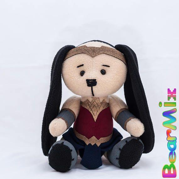 Wonder Woman bunny Чудо Женщина зайка