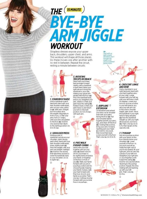 A quick 15-minute arm workout that you can do at home by Arqangel