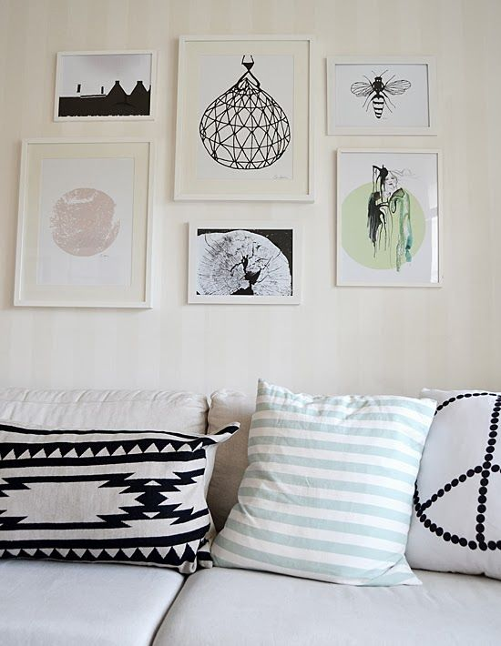 combination of art and pattern: Elina Dahl