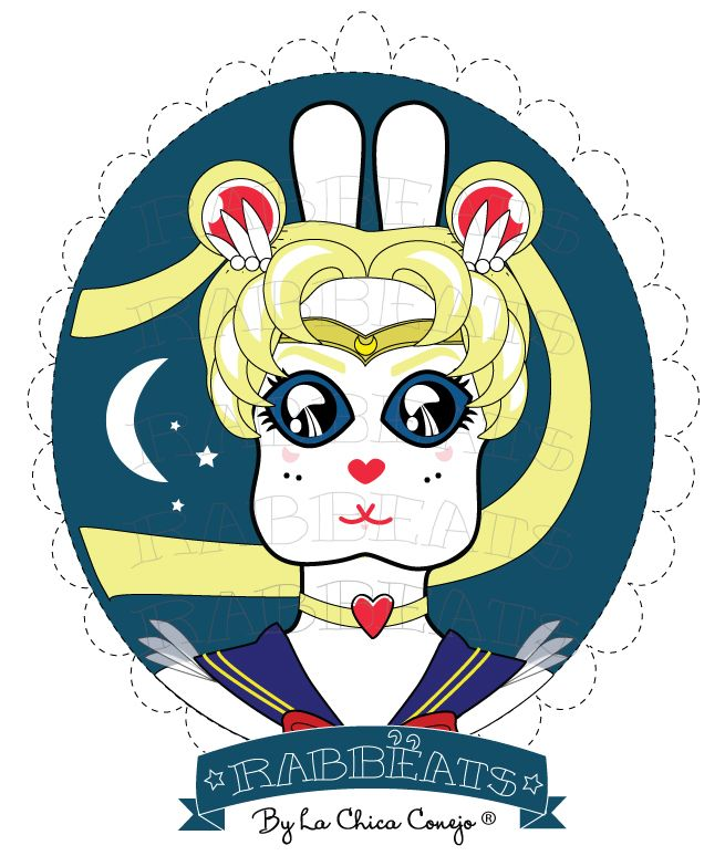 You can order a Special Character YES!! Sailor Rabbëat* Rabbëats by La Chica Conejo ® All Rights Reserved. #Special #Order DONE!! #specialcharacter #camafeos #cameos #rings #tshirts #personajes #anillos #totebags #rabbeatsbylachicaconejo