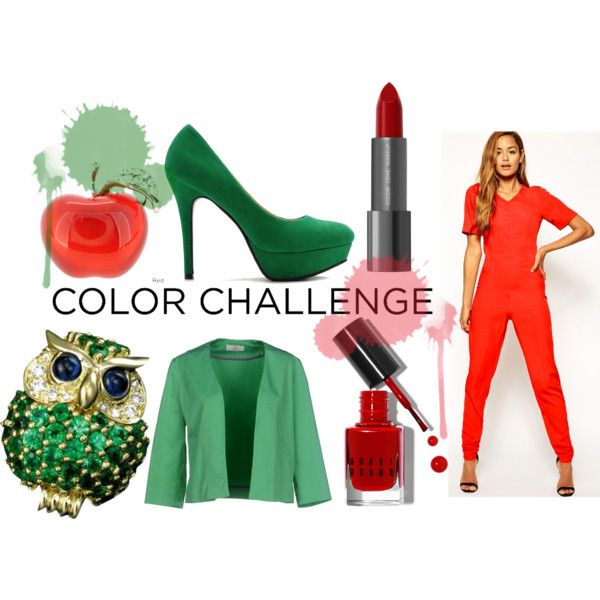 """""""Red & Green"""" by louiseenorris on Polyvore"""