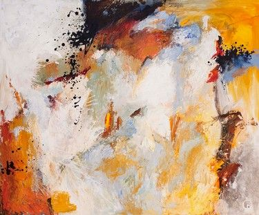 "Saatchi Online Artist Carolina Alotus; Painting, ""Untitled Abstract 57"" #art"