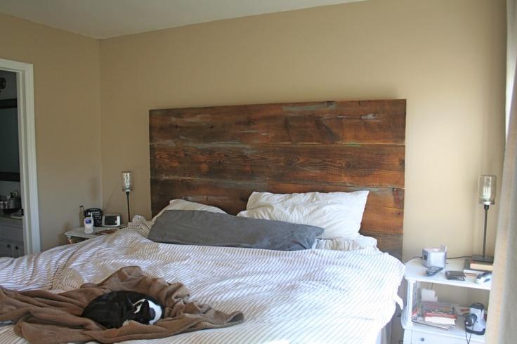 Furniture Rustic Wood Bed Headboards With Mantel Having: Headboard Inspiration