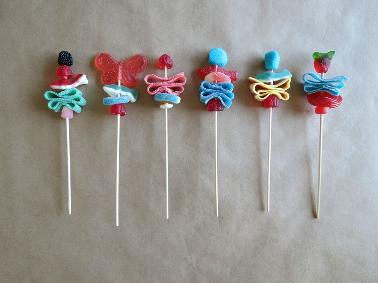 Candy skewers. #candy #skewer #kebab #kids #party