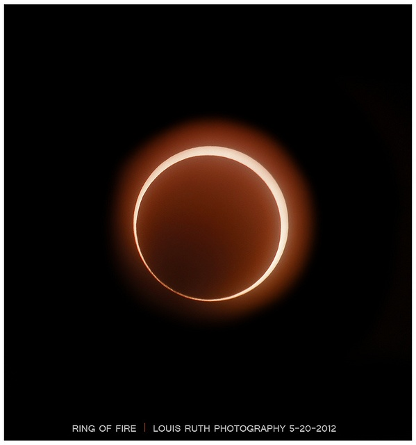 Ring of Fire by Louis Ruth Photography, via Flickr: Ruth Photography, St. Louis, Louis Ruth