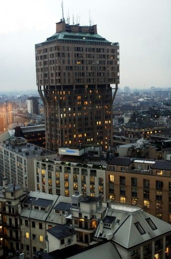 Torre Velasca #Milan #architecture
