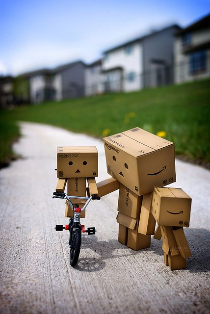 Danbo Bicycle Lessons.