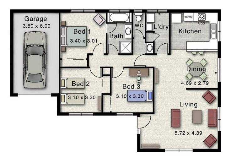 The York 135 is a great design for investors or first home buyers.