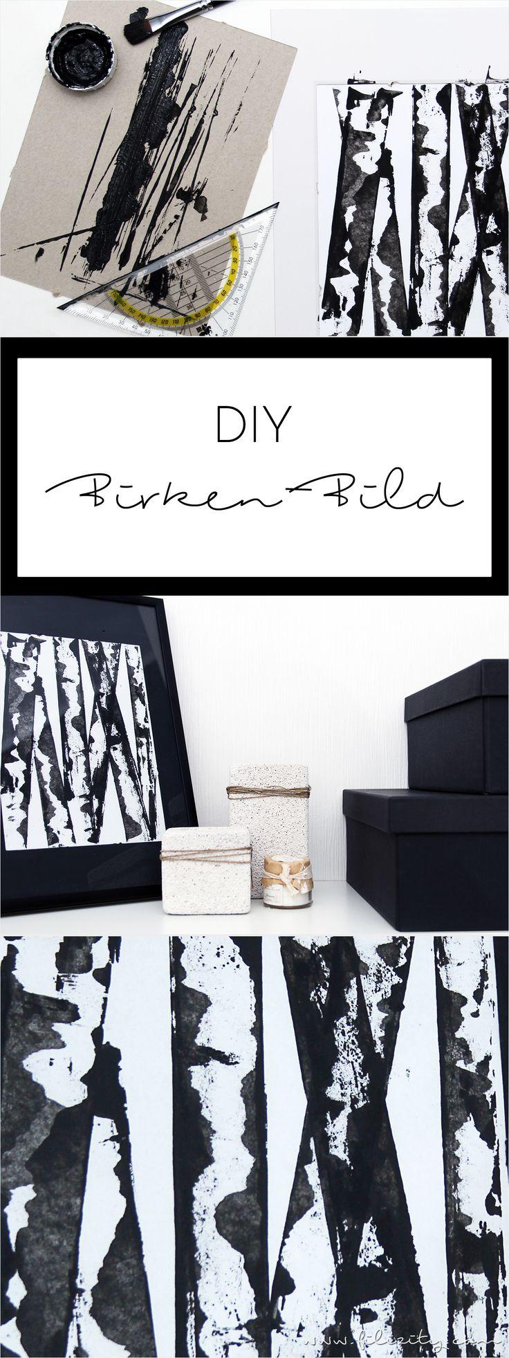 die 25 besten ideen zu baum malen auf pinterest baum leinwand selbstgemachte leinwandkunst. Black Bedroom Furniture Sets. Home Design Ideas