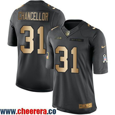 Men's Seattle Seahawks #93 Tony McDaniel Black Anthracite 2016 Salute To Service Stitched NFL Nike Limited Jersey