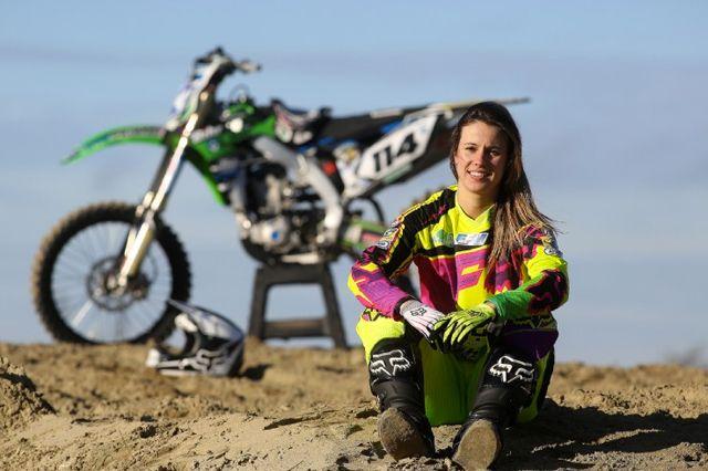 Motocross Racer Livia Lancelot to Return to Racing in 2014