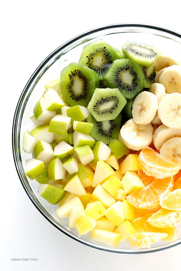 how to make simple fresh fruit salad