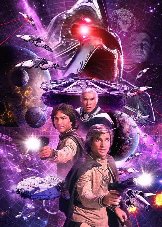 Battlestar Galactica 1978 A3 Poster Print by TheZeroRoom on Etsy