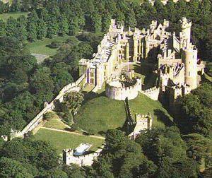 Arundel Castle - Restored Norman Castle in England