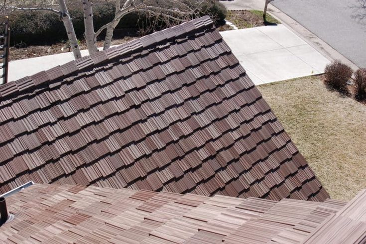 Best Synthetic Slate Shake Roof Gallery Davinci Roofscapes 400 x 300