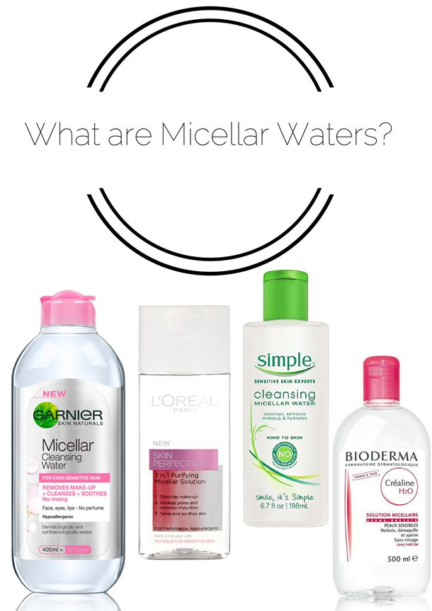 what is micellar water?
