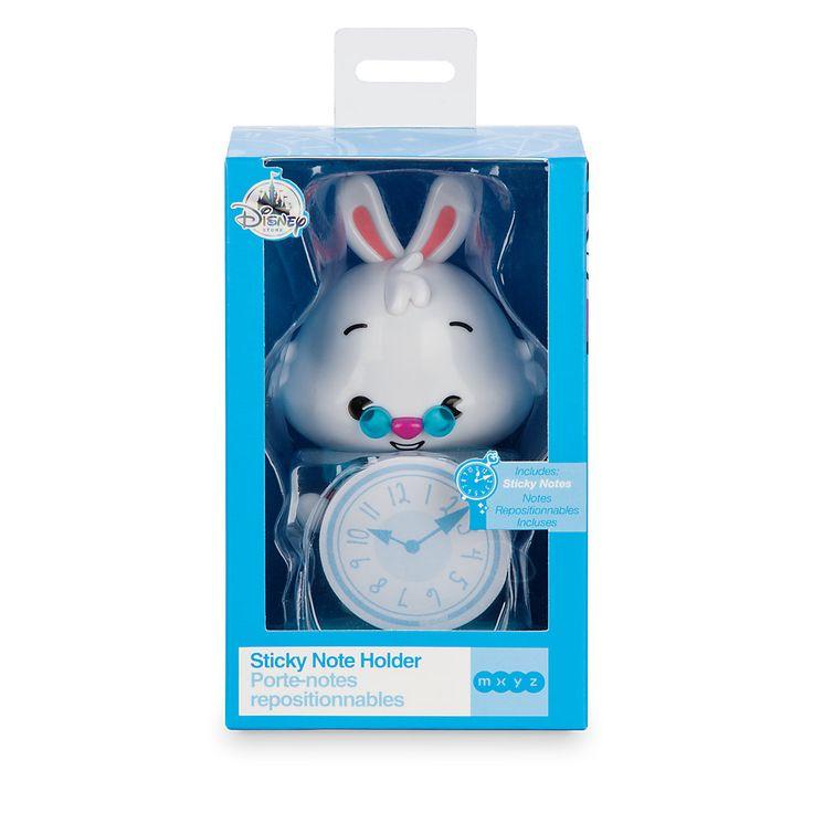 Hvid kanin MXYZ holder til klæbesedler, Alice i Eventyrland