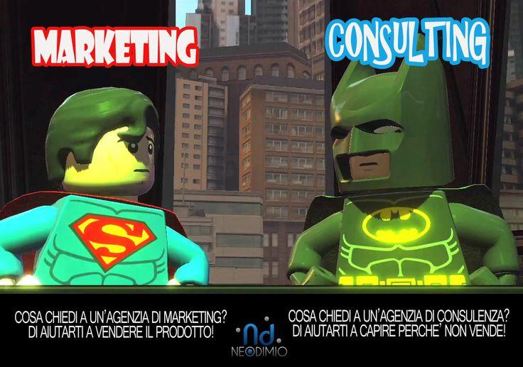 Marketing VS Consulting?