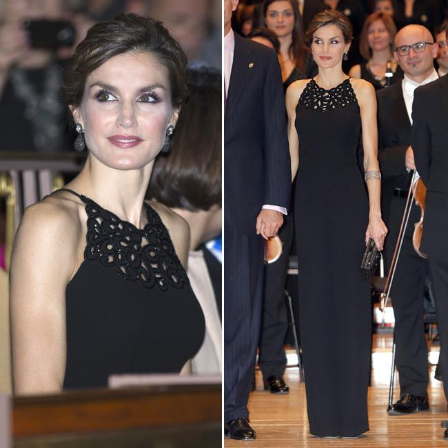 Doña Letizia at the 'Princess of Asturias 2015 Awards on October 22, 2015 in Oviedo, Spain.