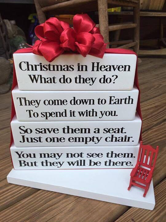 17 Best Ideas About Christmas In Heaven On Pinterest