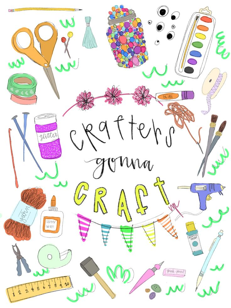 CRAFTERS GONNA CRAFT! Made with the iPad Pro and Apple Pencil!