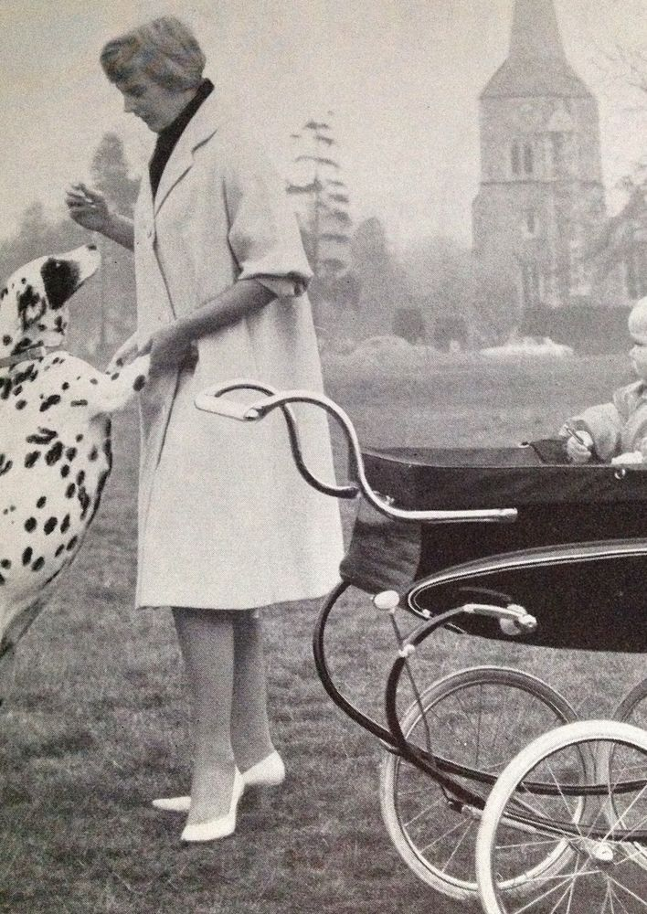 Lines Pedigree vintage pram catalogue 1961 archive copy Ultra Modern