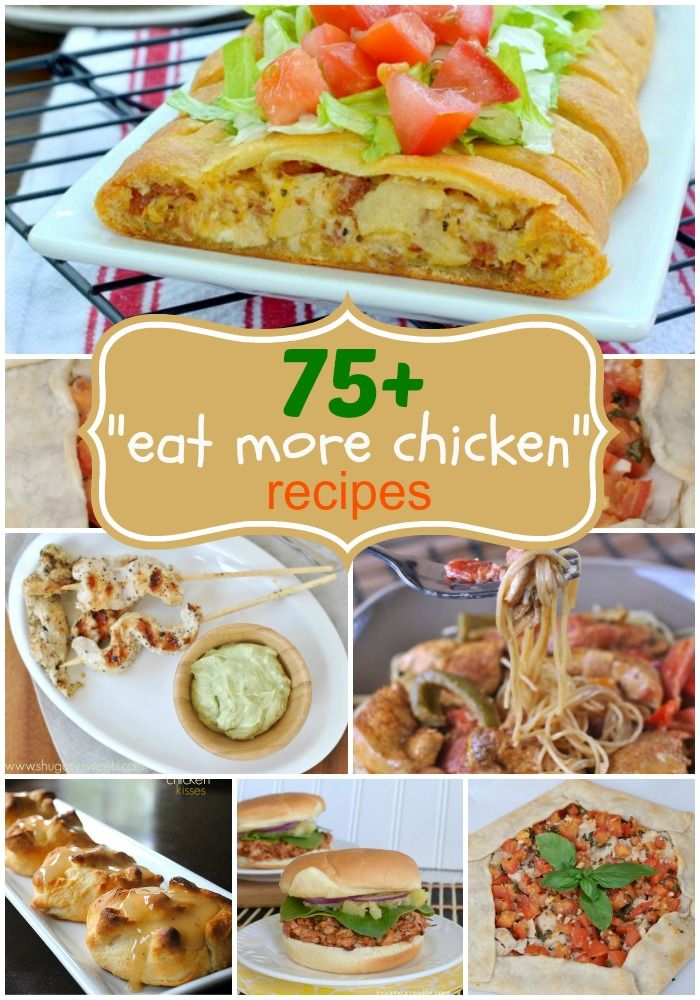 11 best weekly meal plan images on pinterest meal ideas weekly 75 delicious chicken dinner recipe ideas from easy weeknight meals to weekend comfort forumfinder