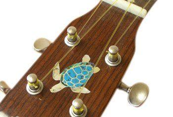 Nature-Sea Turtle Inlay Stickers Decals Ukulele