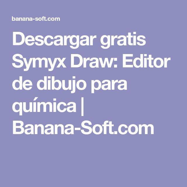 Descargar gratis Symyx Draw: Editor de dibujo para química | Banana-Soft.com