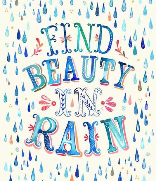 "Find beauty in the rain. ""We're not comfortable until you are!"" www.hwy32hvac.com"