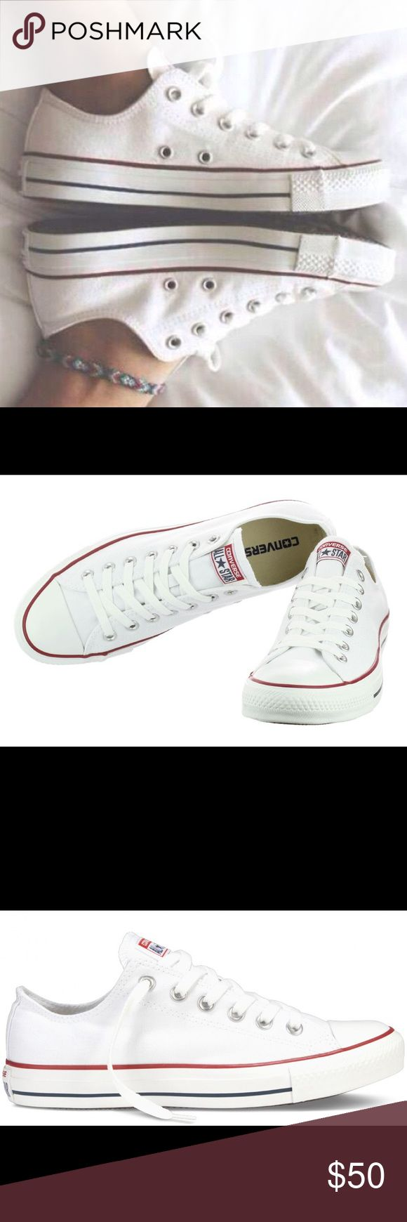 Converse Chuck Taylor All Star Low Top White shoes Converse Chuck Taylor All Star Shoes (M7652) Low Top in Optical White on Wanelo. WOMENS size 5. No box Converse Shoes Sneakers