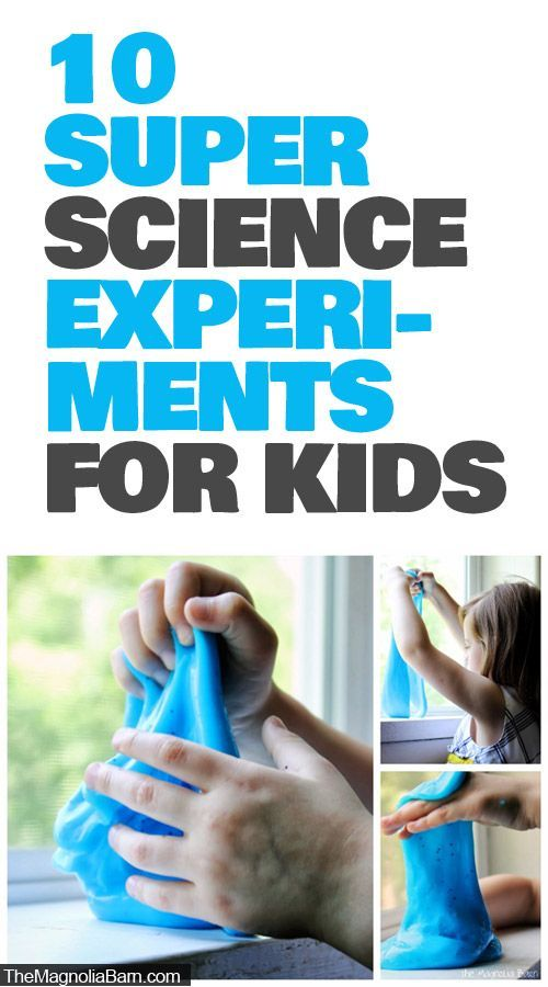 10 Super Science Experiments For Kids- Homemade rock candy and more!