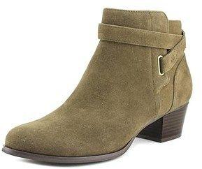 Giani Bernini Oleesia Women Round Toe Synthetic Green Ankle Boot.