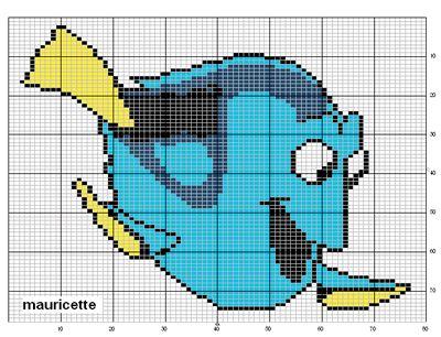 pixel art nemo