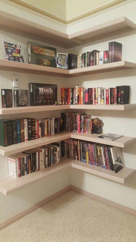 Best 25 Corner Bookshelves Ideas On Pinterest Diy
